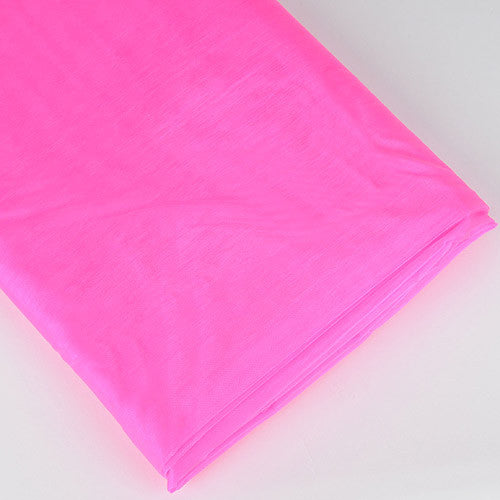 Organza Fabric Bolt (10 Yards) Shocking Pink