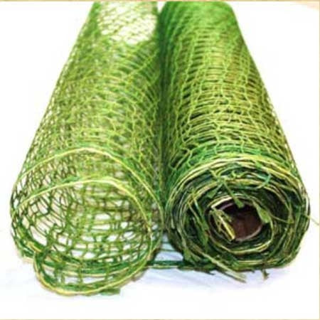 Natural Jute Mesh Moss ( 21 Inch x 6 Yards ) -