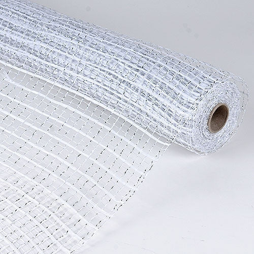 Floral Oasis Mesh Wrap White ( 21 Inch x 10 Yards ) -