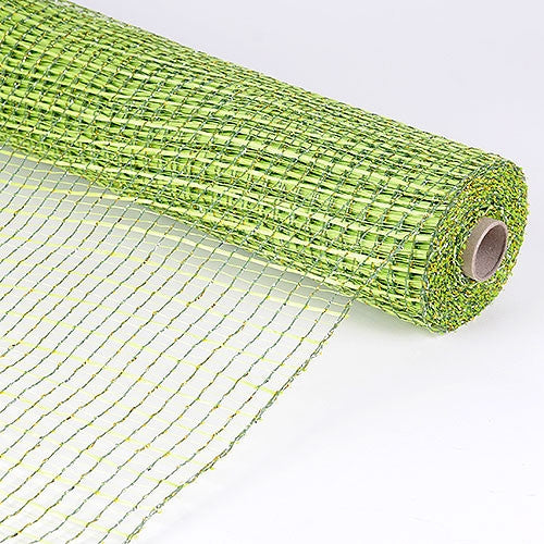 Floral Oasis Mesh Wrap Apple Green ( 21 Inch x 10 Yards )