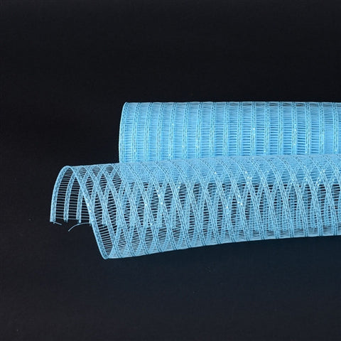 Light Blue Deco Mesh Laser Eyelash -