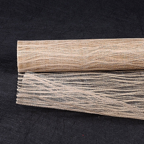 Twine Mesh Wrap Natural ( 21 Inch x 6 Yards ) -