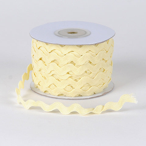 Ric Rac Trim Ivory ( 5mm - 25 Yards ) -