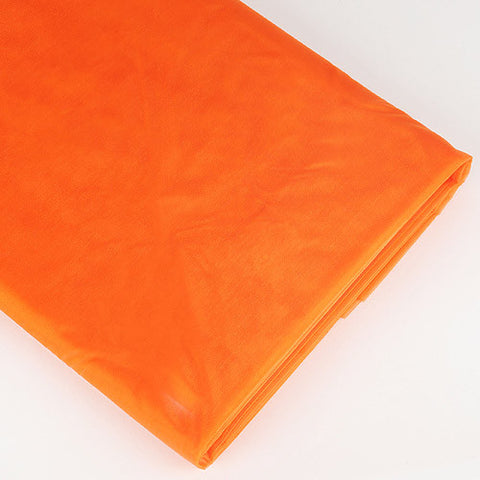 Organza Fabric Bolt (10 Yards) Orange -