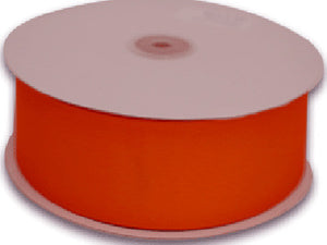 Grosgrain Ribbon Solid Color 25 Yards Orange ( W: 5/8 inch | L: 25 Yards ) -