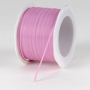 Satin Ribbon 1/16 inch 100 yards Rose Mauve ( W: 1/16 inch | L: 100 Yards ) -