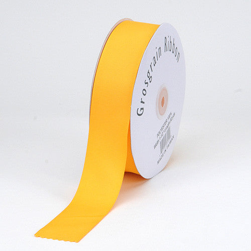 Grosgrain Ribbon Matte Finish Light Gold ( 1/4 inch | 50 Yards ) -