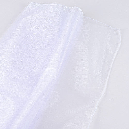 Wedding Organza Fabric Decor White ( W: 58 inch | L: 360 Inches )