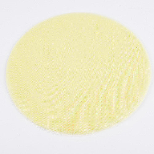 Premium Tulle Circle Baby Maize ( W: 9 inch | L: 25 Pieces )