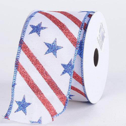 Flag Design Ribbon Flag ( 2-1/2 Inch x 10 Yards ) -