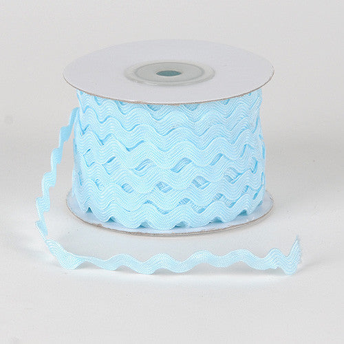 Ric Rac Trim Light Blue ( 10mm - 25 Yards )