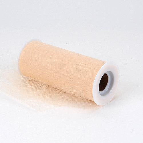 Beige Premium Tulle Fabric ( 6 inch | 25 Yards ) -
