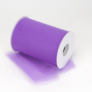 Purple Premium Tulle 100 Yards ( W: 6 inch | L: 100 Yards ) -