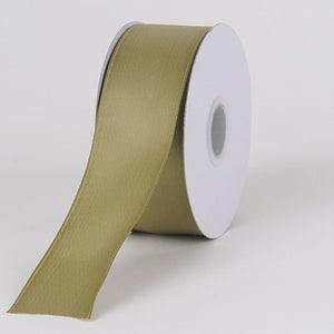 Satin Ribbon Wire Edge Old Willow ( W: 1-1/2 inch | L: 25 Yards ) -