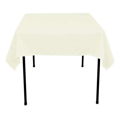 Ivory  70 x 70 Square Tablecloths  ( 70 inch x 70 inch )- Ribbons Cheap