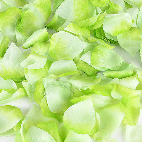 Silk Flower Petal Apple Green ( 400 Petals ) -