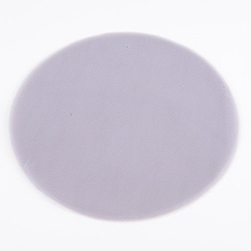 Premium Tulle Circle Silver ( 9 inch | 25 Pieces ) -