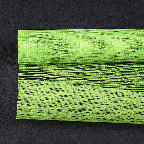 Twine Mesh Wrap Apple Green ( 21 Inch x 6 Yards ) -