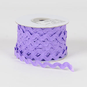 Ric Rac Trim Purple ( 7mm - 25 Yards ) -