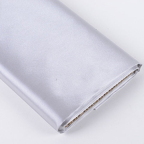 Premium Satin Fabric Silver ( W: 60 inch | L: 10 Yards ) -