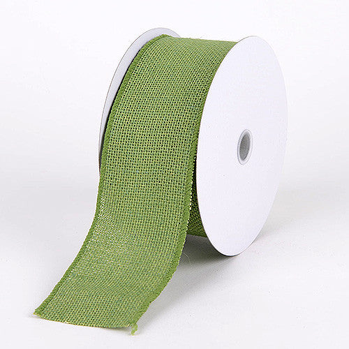 Burlap Ribbon Moss ( 2-1/2 inch | 10 Yards )