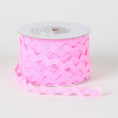 Ric Rac Trim Pink ( 5mm - 25 Yards ) -