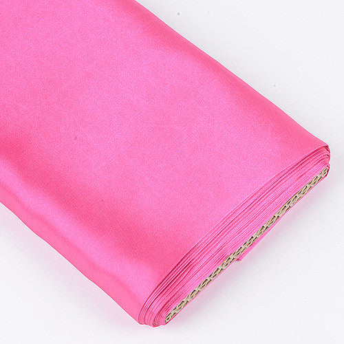 Premium Satin Fabric Shocking Pink ( W: 60 inch | L: 10 Yards ) -