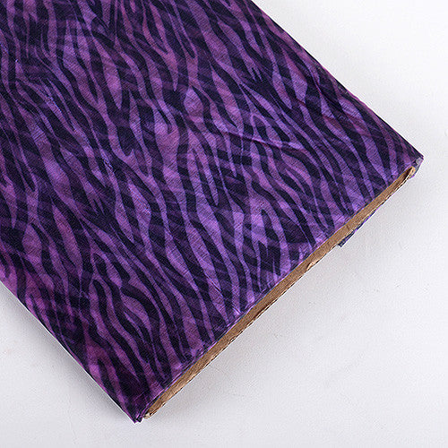 Organza Fabric Animal Printed Fuchsia ( W: 58 inch | L: 10 Yards ) -