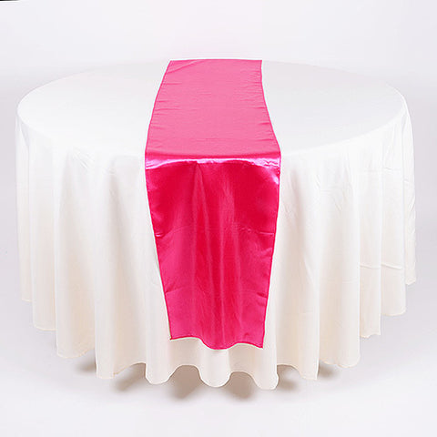 Satin Table Runners - (14 inch x 108 inches)