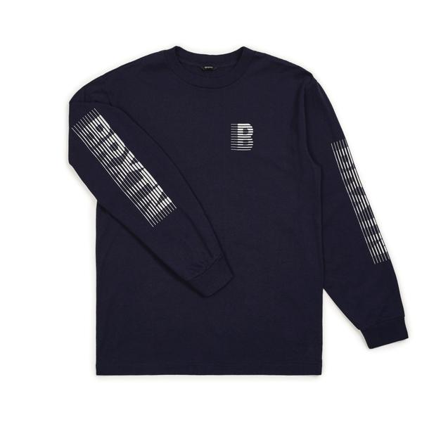 Brixton 'Commodore' Long Sleeve Tee