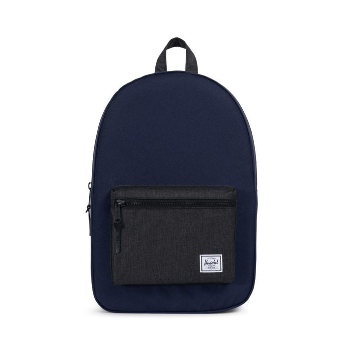 Herschel Settlement Backpack - Peacoat/Black Crosshatch