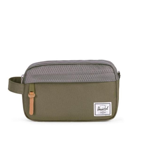 HERSCHEL Chapter Travel Kit | CARRY-ON IVY GREEN/SMOKED PEARL
