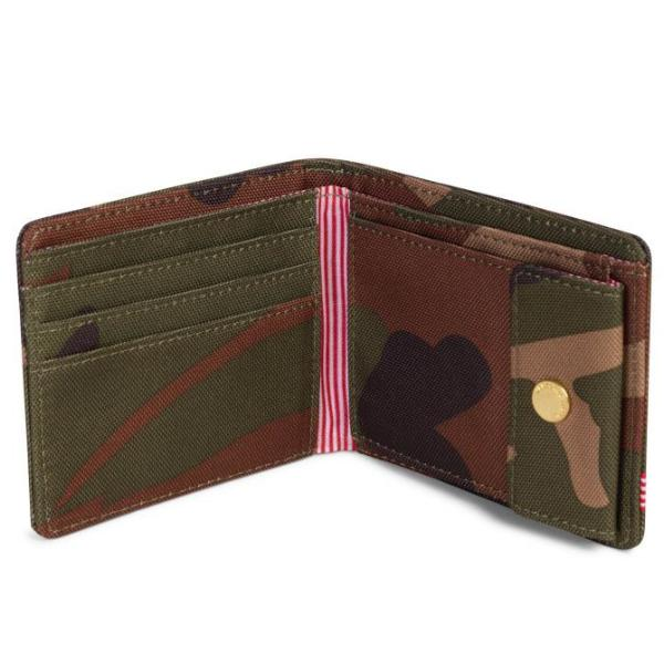 Herschel Roy Wallet | Coin - Woodland Camo