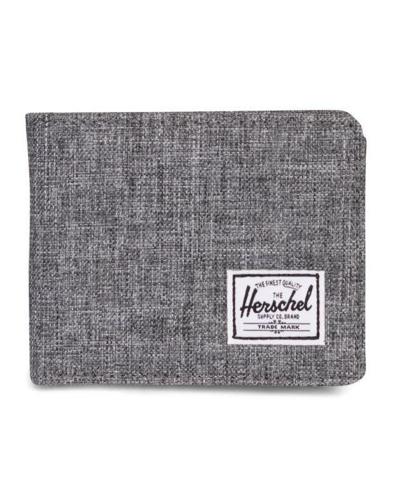 Herschel Roy Wallet | Coin - Raven Crosshatch