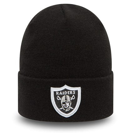 OakLand Raiders Essential Cuff Hat - Black