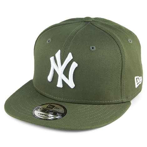 New Era 9FIFTY New York Yankees Snapback Cap - MLB League Essential - Olive