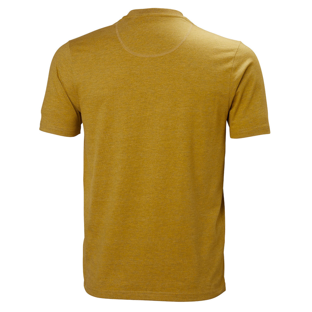 Helly Hansen Logo Tee - Golden Glow