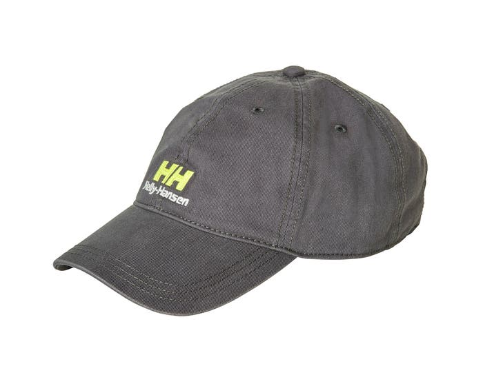 Helly Hansen YU DAD CAP - charcoal