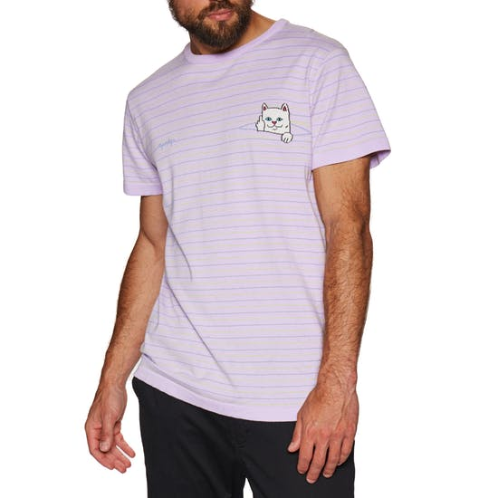 RipnDip Peek A Nermal Knit Tee (Hunter Green / Fuchsia)