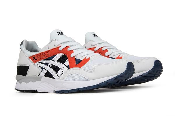 huge discount 2f7cf 67803 ASICS GEL LYTE V - White / Orange