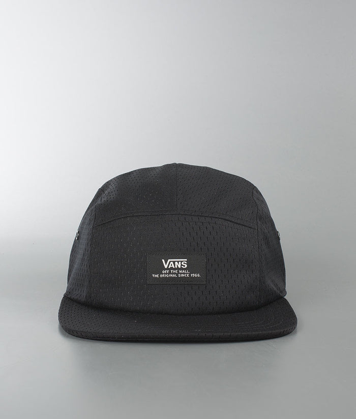 Vans Dennett 5 Panel Camper Hat - Black