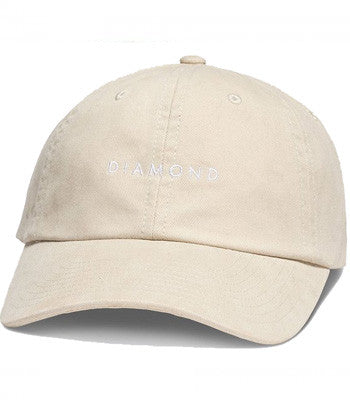 Diamond Supply Co'Sport' Hat - Tan