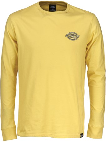 DICKIES PIPERSVILLE LONG SLEEVE T-SHIRT - DUSK YELLOW