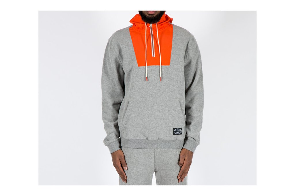 POLER APPAREL BAG-IT HOODIE - GREY HEATHER