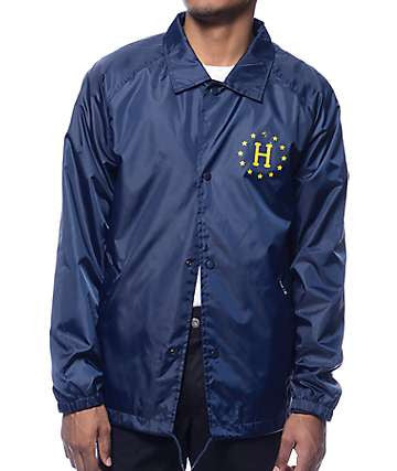 HUF 'Recruit' Coaches Jacket - Blue