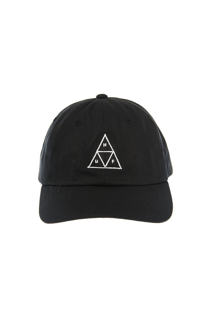 Huf 'Triple Triangle' curved brim hat - Black