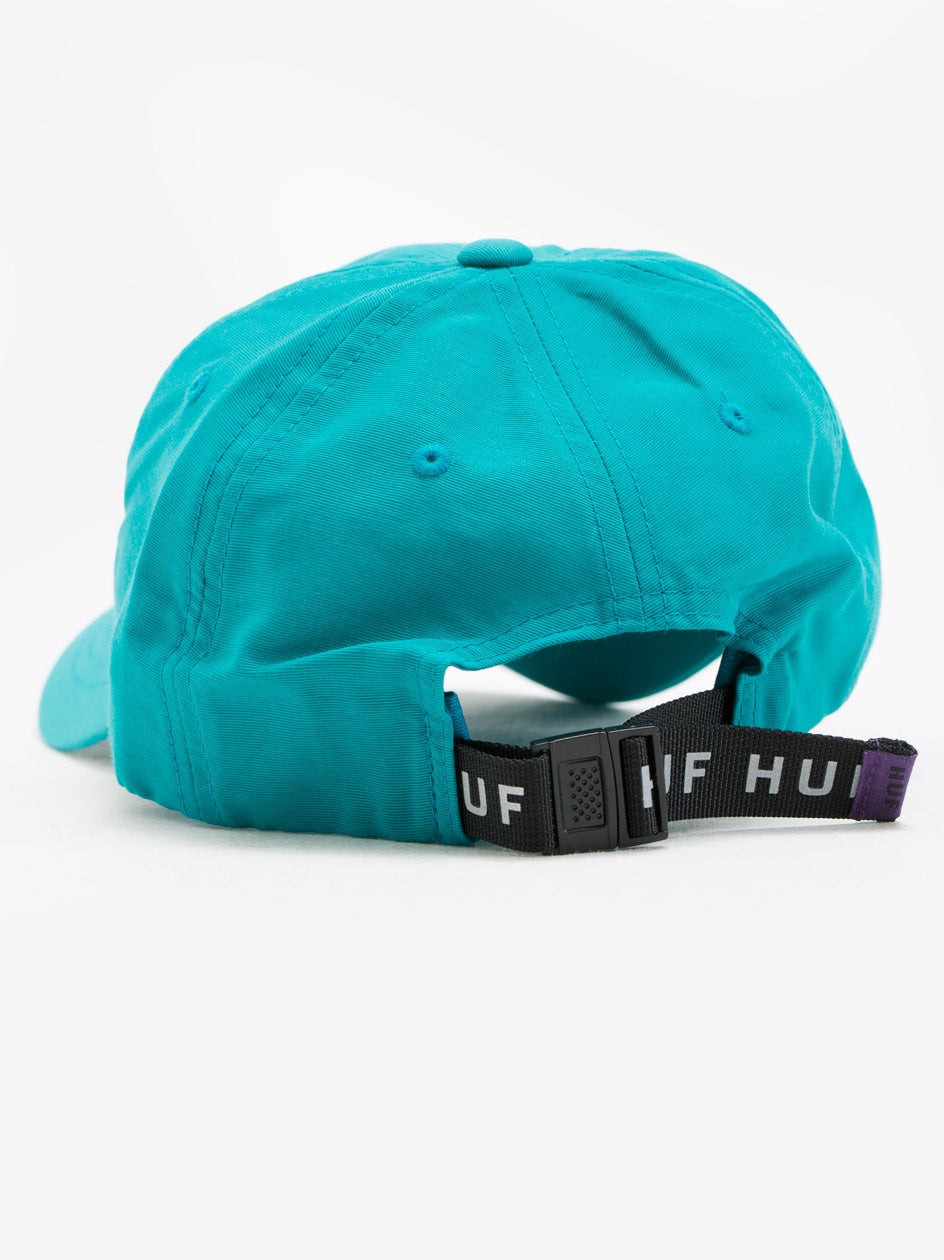 Huf Triple Triangle 6 Panel Cap - Jade
