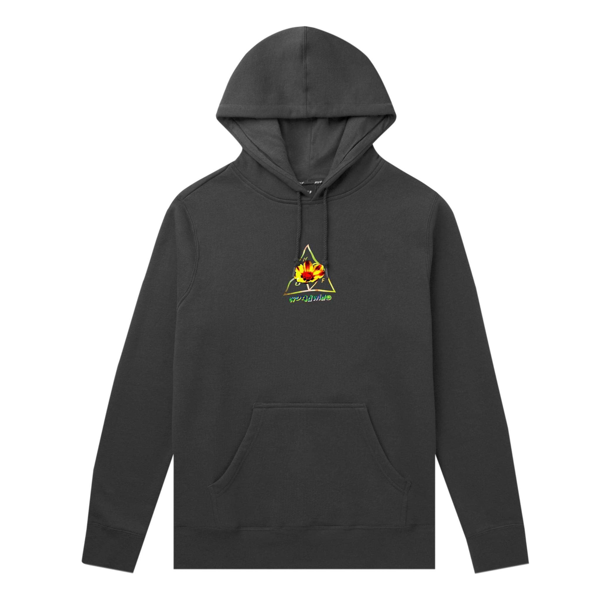 Huf Come Down Pullover Hoodie - Black