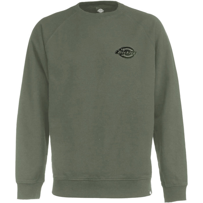 DICKIES BRIGGSVILLE SWEAT - Dark Olive