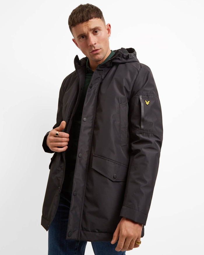 LYLE & SCOTT Technical Parka - BLACK